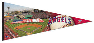 "Los Angeles Angels ""Opening Day"" Extra-Large 17x40 Premium Felt Pennant - Wincraft"