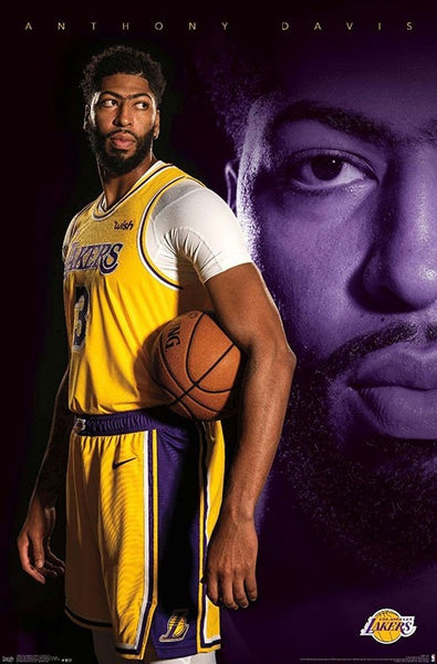 "Anthony Davis ""LA Superstar"" Los Angeles Lakers Official NBA Basketball Poster - Trends 2020"