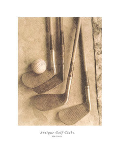 """Antique Golf Clubs"" - Modern Art Editions 1998"