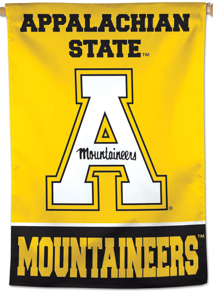Appalachian State Mountaineers Official NCAA Team Logo NCAA Premium 28x40 Wall Banner - Wincraft Inc.