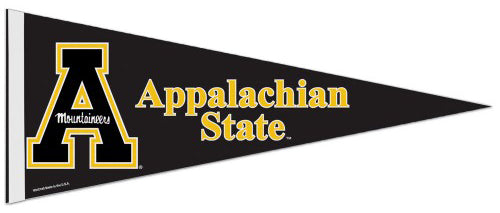 Appalachian State Mountaineers Official NCAA Team Logo Premium Felt Collector's Pennant - Wincraft Inc.