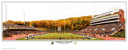 "Appalachian State Football ""Gameday at The Rock"" - Sport Photos Inc."