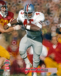 "Archie Griffin ""Legend"" (c.1974) Ohio State Buckeyes Premium Poster Print - Photofile Inc."
