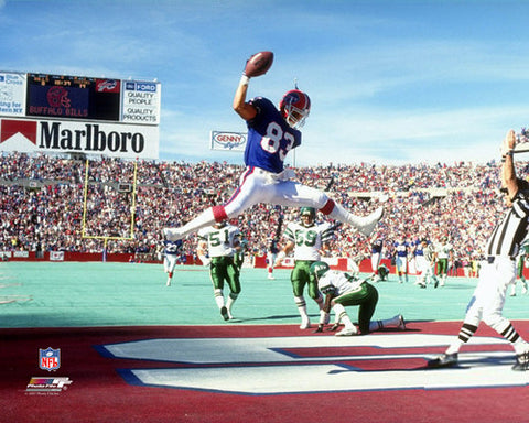 "Andre Reed ""Touchdown Classic"" (1990) Buffalo Bills Premium Poster - Photofile Inc."