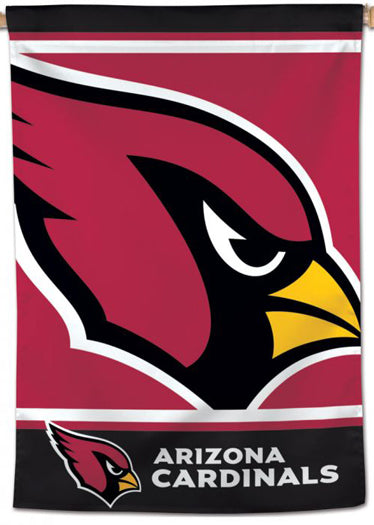 Arizona Cardinals Logo-Style Official NFL Team 28x40 Wall BANNER - Wincraft Inc.