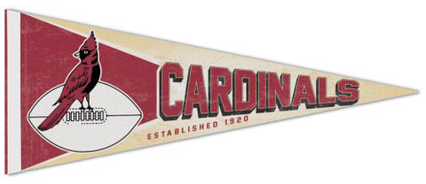Chicago Cardinals NFL Retro 1947-59 Style Premium Felt Collector's Pennant - Wincraft Inc.