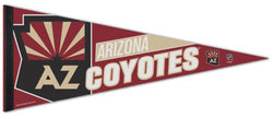 Arizona Coyotes Official NHL Hockey Team Logo Premium Felt Collector's Pennant - Wincraft