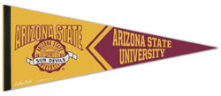 Arizona State Sun Devils NCAA College Vault Collection Retro-Style Premium Felt Collector's Pennant - Wincraft Inc.