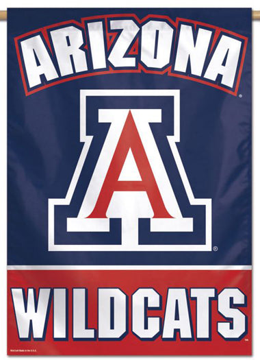 Arizona Wildcats Official NCAA Team Logo NCAA Premium 28x40 Wall Banner - Wincraft Inc.