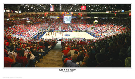 """Duel in the Desert"" (McKale Center, Tucson) - Sport Photos"