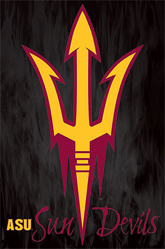 Arizona State Sun Devils Official NCAA Team Logo Poster - Costacos Sports
