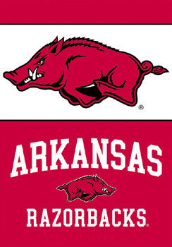 Arkansas Razorbacks Premium 28x40 Banner (2011) - BSI Products Inc.
