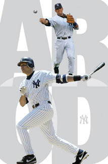 "Alex Rodriguez ""Pinstripes"" New York Yankees Poster - Costacos 2005"