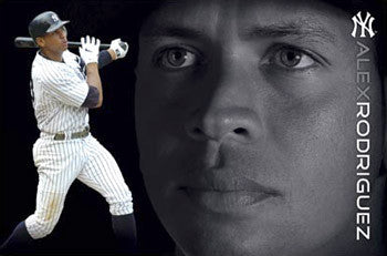 "Alex Rodriguez ""Yankee Pride"" New York Yankees Poster - Costacos 2008"