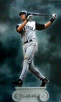 "Alex Rodriguez ""Almighty Alex"" Seattle Mariners Poster - Costacos 1999"