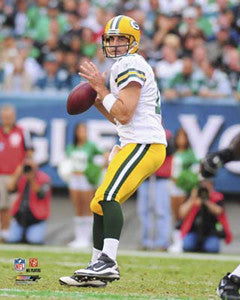 "Aaron Rodgers ""QB Action"" Green Bay Packers Premium Poster Print - Photofile 16x20"