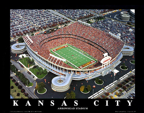 "Arrowhead Stadium ""From Above"" (Kansas City) - Aerial Views"