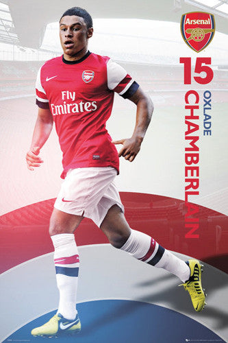 "Alex Oxlade-Chamberlain ""Arsenal Action"" 2012/13 Soccer Poster - GB Eye (UK)"