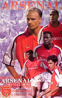 "Arsenal FC ""Arsenal Forever"" Poster - U.K. 2000"