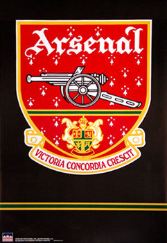 Arsenal FC Official Club Crest Poster (1949-2002) - Starline