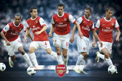 "Arsenal FC ""Fab Five"" (2010/11) Poster - GB Eye Inc."