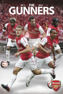"Arsenal FC ""Big Five"" (2011/12) EPL Soccer Action Poster - GB Eye Inc."