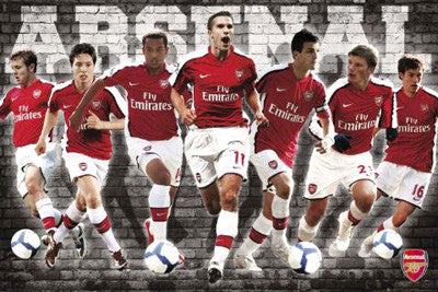 "Arsenal FC ""Super Seven"" 2009/10 - GB Eye"
