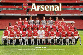 Arsenal FC Official Team Portrait 2010/11 - GB Eye
