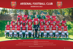 Arsenal FC 2012/13 Official Team Portrait Poster - GB Eye (UK)