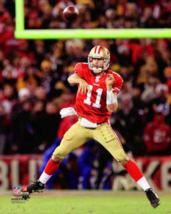 "Alex Smith ""Airborne"" San Francisco 49ers Premium Poster Print - Photofile 16x20"