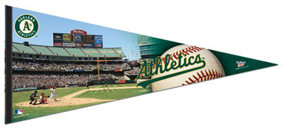 "Oakland A's ""Gameday"" EXTRA-LARGE Premium Felt Collector's Pennant - Wincraft"