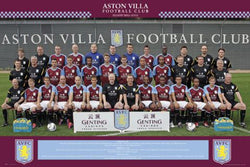 Aston Villa FC 2011/12 Official Team Portrait Poster - GB Eye (UK)
