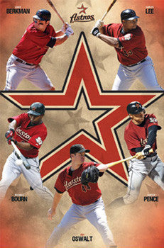 "Houston Astros ""Five Points"" (2010) - Costacos Sports"