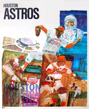 Houston Astros Classic Theme Art - ProMotions 1971