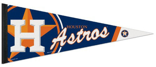Houston Astros Official MLB Baseball Premium Felt Collector's Pennant - Wincraft