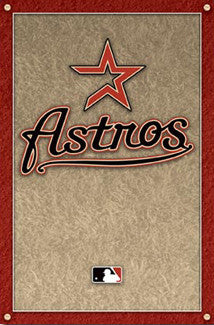 Houston Astros Official Team Logo Poster - Costacos 2008