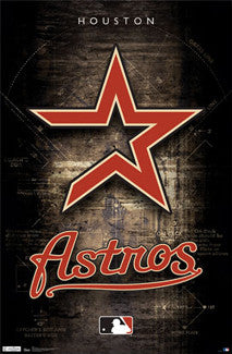 Houston Astros Official Team Logo Poster - Trends Int'l.