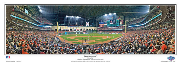 "Houston Astros ""Opening Day"" Minute Maid Park Panoramic Poster Print - Everlasting Images"