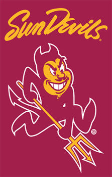 Arizona State Sun Devils Official Team Logo Premium Banner