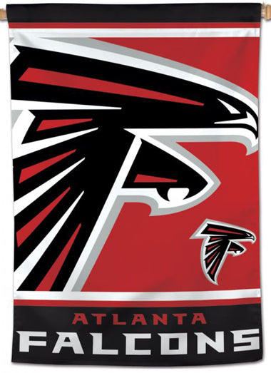 Atlanta Falcons Official NFL Football Team Logo-Style 28x40 Wall BANNER - Wincraft Inc.