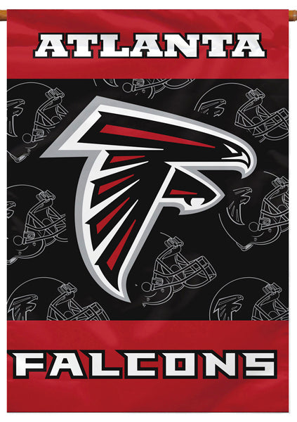Atlanta Falcons Official NFL Football Team Premium 28x40 Banner Flag - BSI Products