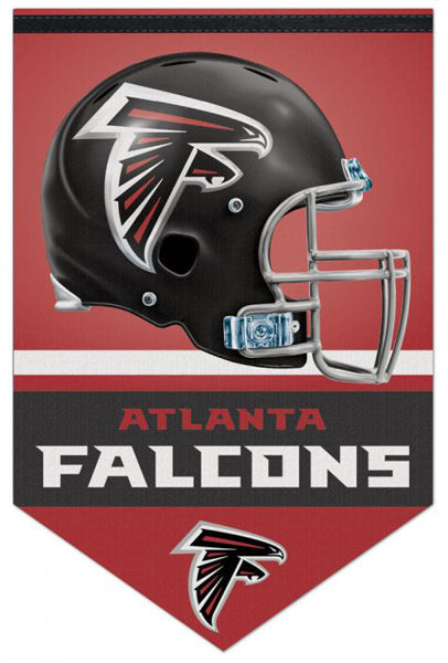 Atlanta Falcons Official NFL Football Team Premium 17x26 Felt Banner - Wincraft Inc.