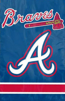 Atlanta Braves Official Team Applique Banner - Party Animal