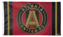 Atlanta United FC Official MLS Soccer Deluxe-Edition Premium 3'x5' Flag - Wincraft Inc.