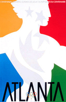 Atlanta 1996 Summer Olympic Games Official Poster (Original)