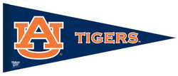 Auburn Tigers NCAA Athletics Premium Felt Collector's Pennant - Wincraft Inc.