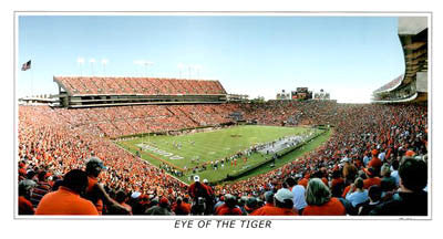 "Auburn Football ""Eye of the Tiger"" - Sports Photos Inc. 2004"