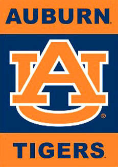 "Auburn Tigers ""AU"" Wall Scroll - BSI Products"