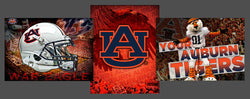 "Auburn Tigers ""Football Spirit"" 3-Poster Combo Set - Team Spirit Posters"