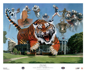 "Auburn Tigers ""The Jungle"" (LE/5000) - USA Sports Inc."